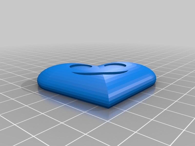 eeed3f31efc111f3d4776a56763b5399.png Download free STL file Smiling Heart Key chain • 3D printer template, dancingchicken
