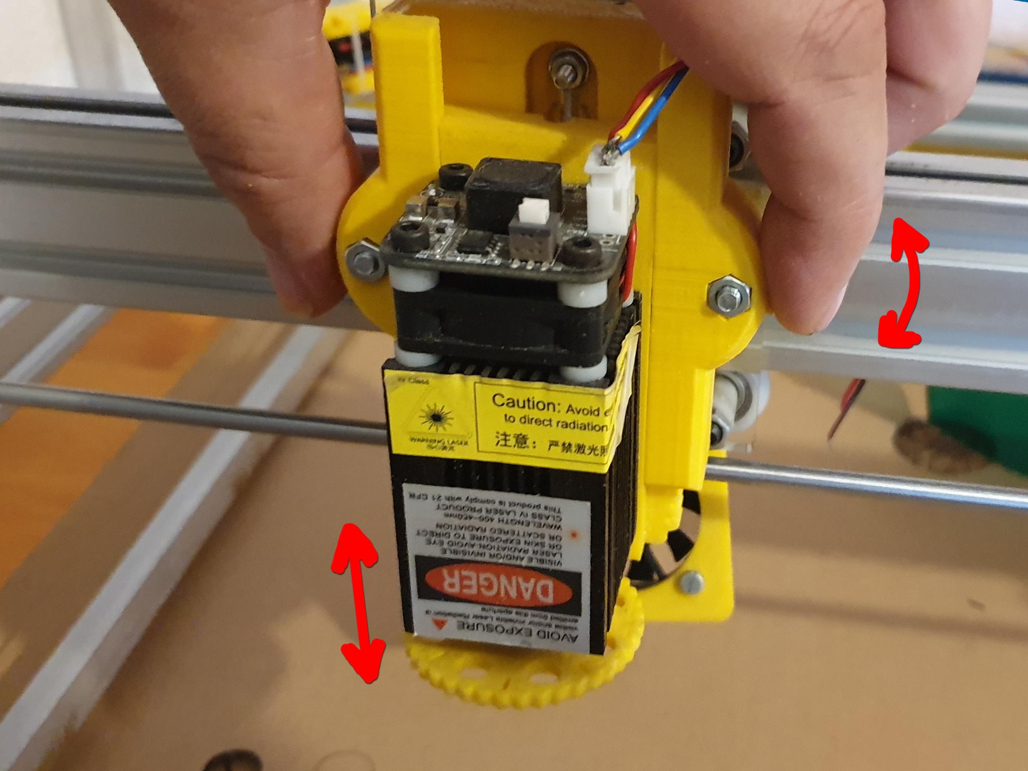 F5.jpg Download free STL file Laser quick release + Z axis fine adjustment • 3D print model, dancingchicken