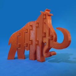 F1.jpg Download free STL file Flexi Mammoth • Object to 3D print, dancingchicken