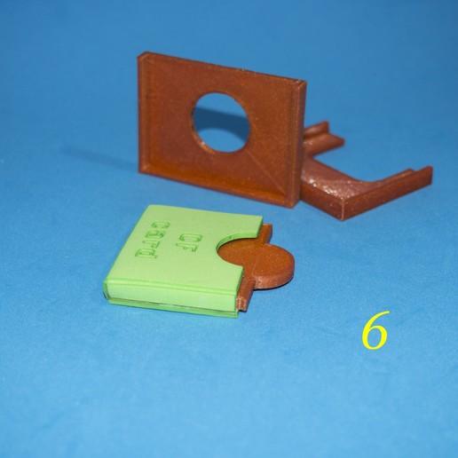 7.jpg Download free STL file Lasercut EVA foam CF Card sleeve + gluing jig • 3D printing template, dancingchicken