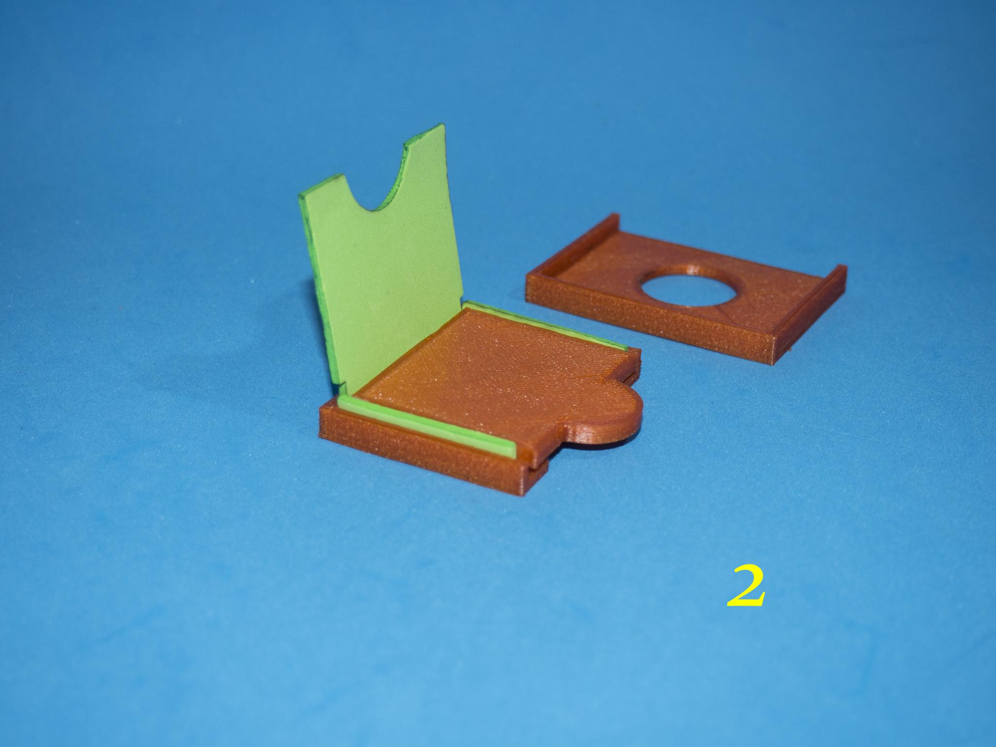 3.jpg Download free STL file Lasercut EVA foam CF Card sleeve + gluing jig • 3D printing template, dancingchicken