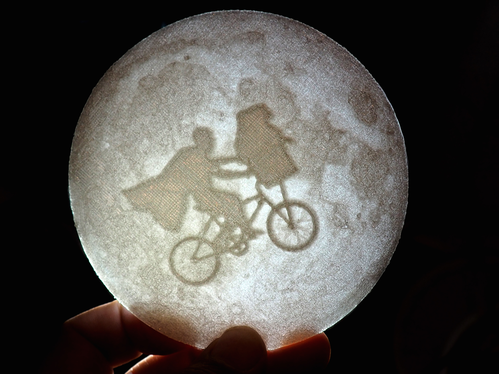 foto1.jpg Download free STL file E.T. across the moon litophane • 3D print template, dancingchicken