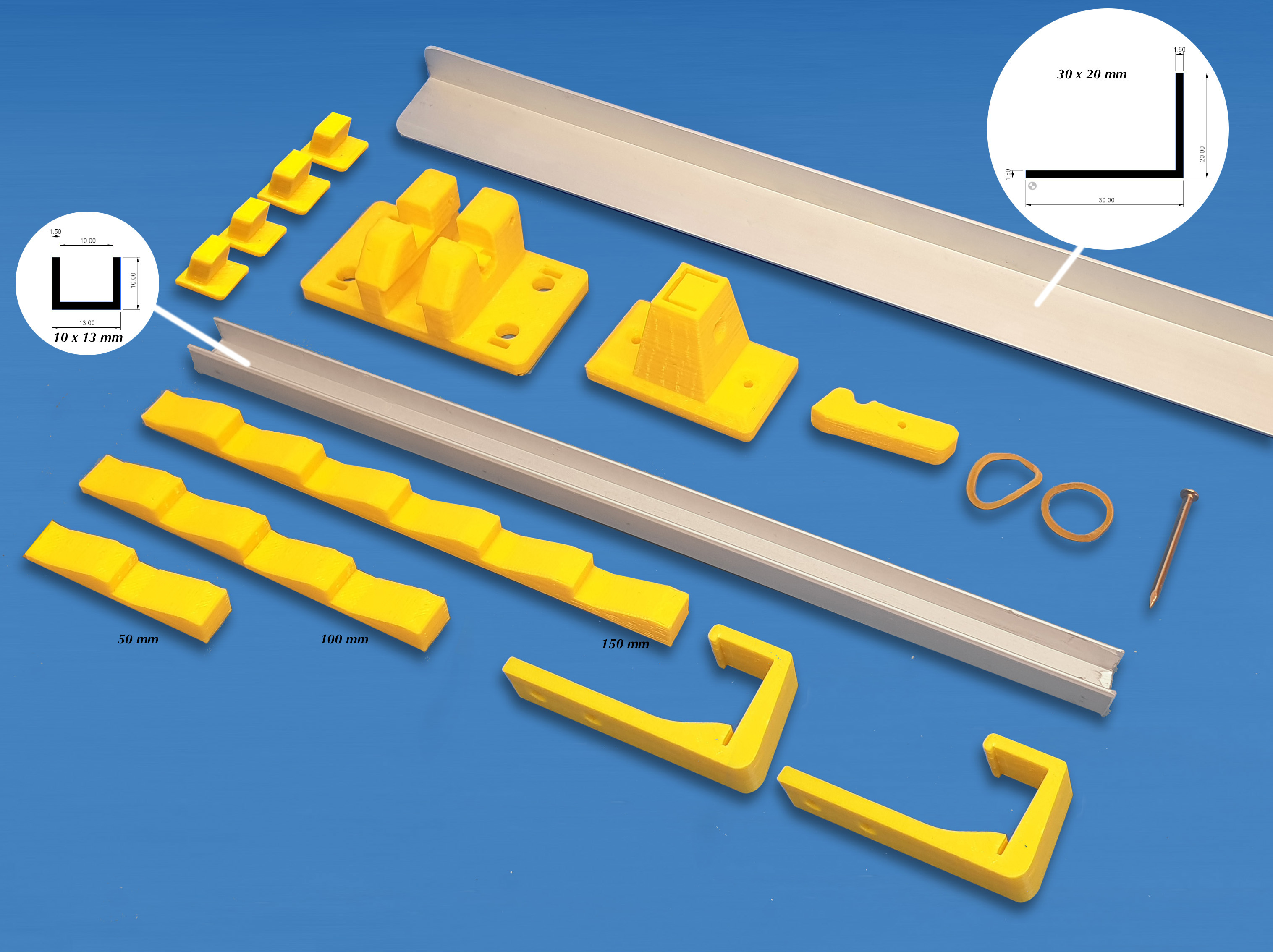 Foto4.jpg Download free STL file Laser Lifting Feet • 3D printing template, dancingchicken