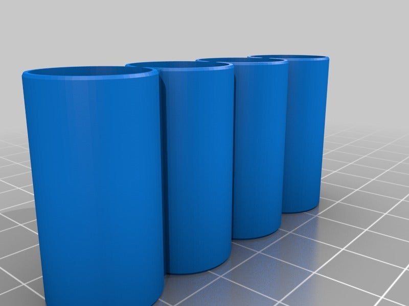 875e47509d93754c02e5d1353ebd4a17.png Download free STL file Simple Battery Holder • Object to 3D print, dancingchicken