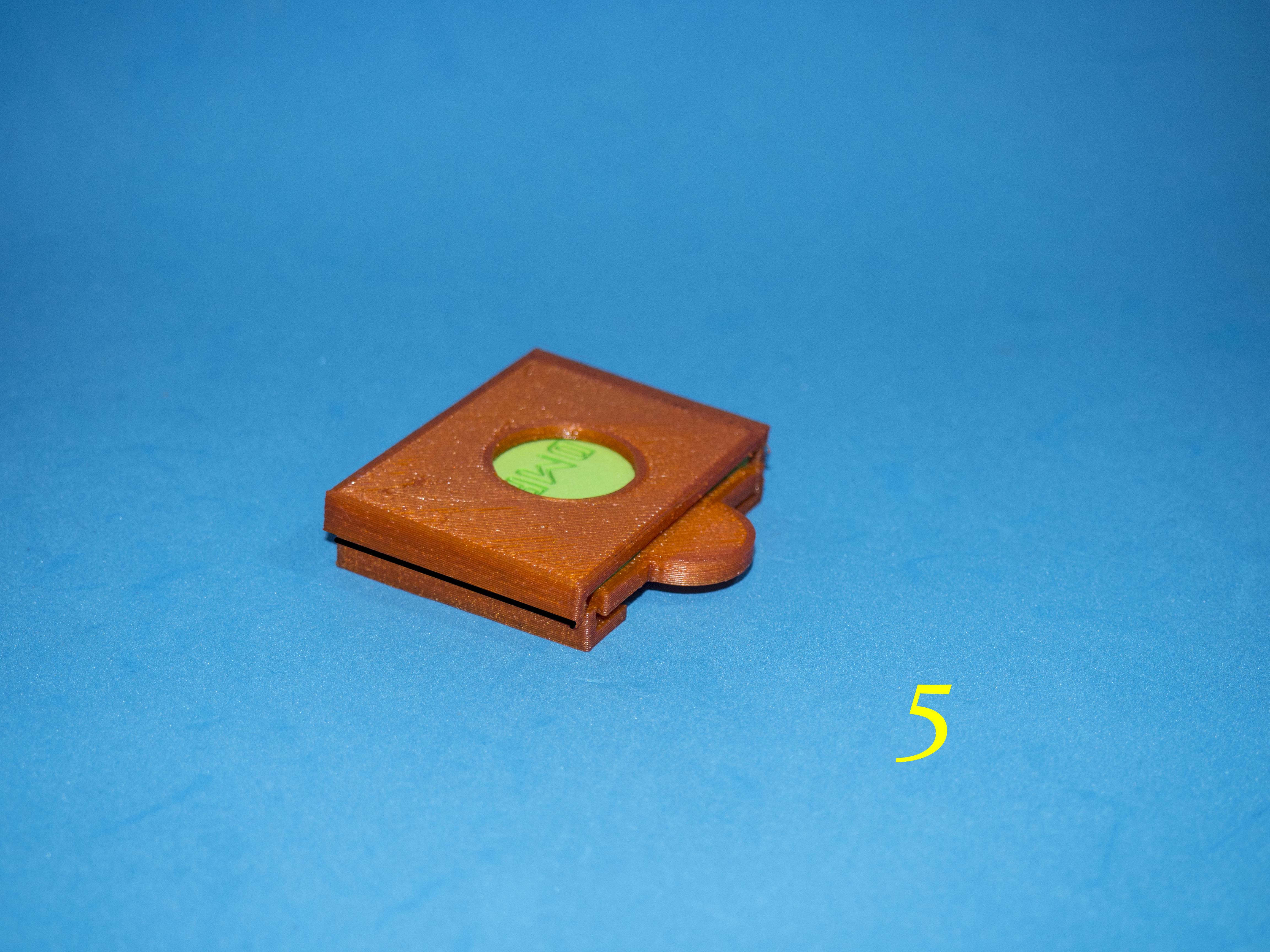 6.jpg Download free STL file Lasercut EVA foam CF Card sleeve + gluing jig • 3D printing template, dancingchicken