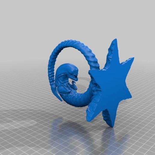 8cd156e61ca8c02d6528ccbe52ba0462.png Download STL file Alien Chestburster • Object to 3D print, dancingchicken