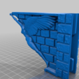 Download free 3D print files Decorative Corbels for single track slot, dancingchicken