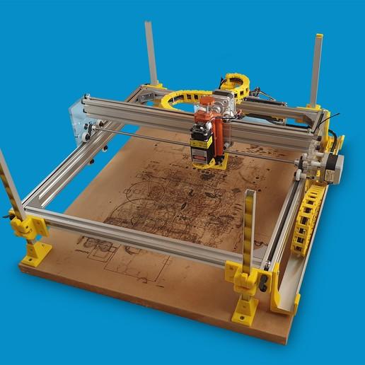 Foto2.jpg Download free STL file Laser Lifting Feet • 3D printing template, dancingchicken