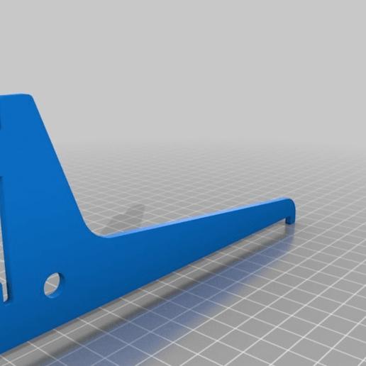 ab91771fb7607137c21285bb97612949.png Download free STL file Shelf bracket set for single track slot • 3D printer design, dancingchicken
