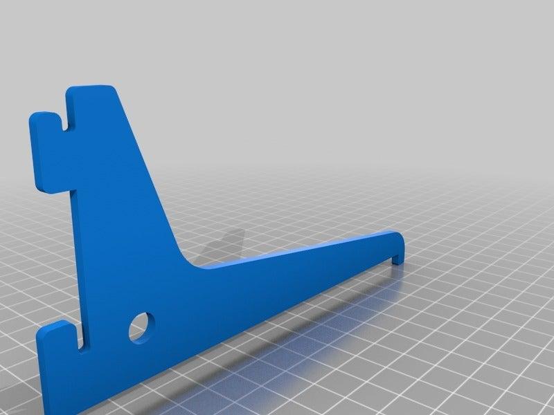 5a1dbabdebd1eb3066481223065e8880.png Download free STL file Shelf bracket set for single track slot • 3D printer design, dancingchicken