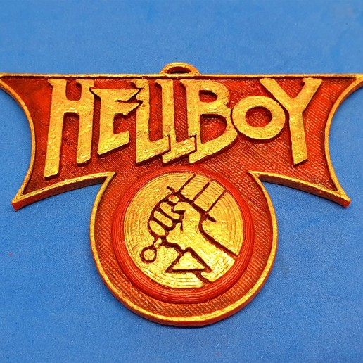 Download free STL file Hellboy Emblem • 3D print design, dancingchicken