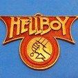 Download free STL Hellboy Emblem, dancingchicken