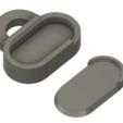 Télécharger fichier STL gratuit Porte-clés Mini PillBox d'urgence, dancingchicken