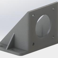 Untitled.JPG Télécharger fichier STL Soutien NEMA17 • Modèle pour impression 3D, CnC-Duino