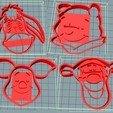 Télécharger plan imprimante 3D Les coupeurs de biscuits Winnie l'ourson, rbbenitez1212