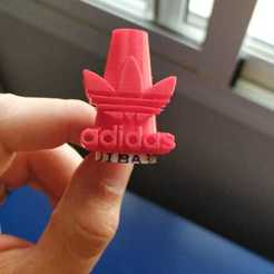 WhatsApp Image 2020-08-01 at 13.49.51.jpeg Download STL file Adidas mouthpiece hookah bong • Design to 3D print, josmijiba