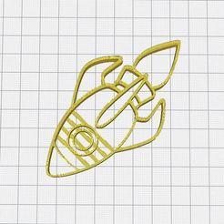 Výstřižek.JPG Descargar archivo OBJ Cortador de cohetes • Modelo imprimible en 3D, Gazlowe