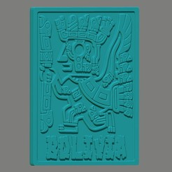 ren 4.jpg Download OBJ file Inca Tiwanaku Bolivia • Design to 3D print, cspb79