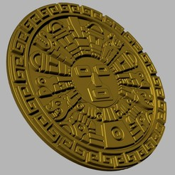 Imprimir en 3D inti the inca sun god, cspb79