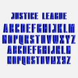 Télécharger fichier STL gratuit Lettres police DC • Design imprimable en 3D, cspb79