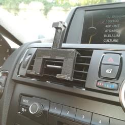 Descargar STL gratis Soporte de móvil para coche, gucoDIY