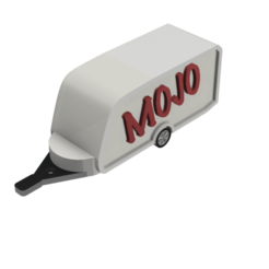 Caravane Mojo.png Download free STL file Caravan with key ring • 3D printer model, maxencedefilippi