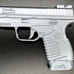 Download 3D printer files XDSR Rubber Band Gun, justmaykit