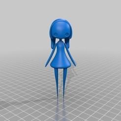 Impresiones 3D gratis muñequita, mtstksk