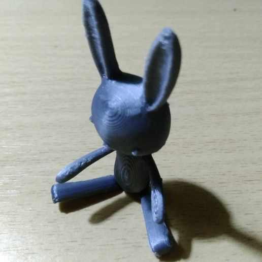 Télécharger fichier STL gratuit poupée lapin • Plan pour imprimante 3D, mtstksk