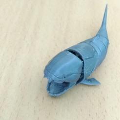 Download free 3D printer designs jointed Dunkleosteus, mtstksk
