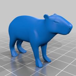 Télécharger fichier STL gratuit Capybara • Modèle à imprimer en 3D, mtstksk