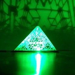 Descargar archivos STL gratis Luz piramidal, mtstksk