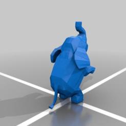 Download free 3D printer designs elephant, mtstksk