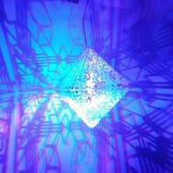 Descargar archivos STL gratis luz octaedro regular, mtstksk
