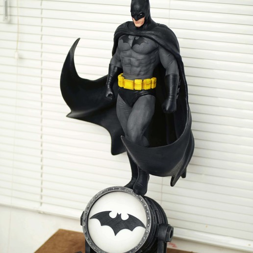 Descargar STL Estatua de Fan Art de Batman 3d Imprimible, the_le_thonkk