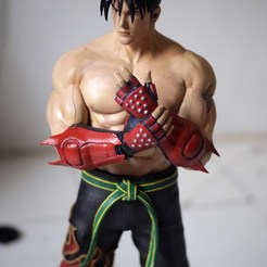 Download 3D printing designs Tekken Jin Kazama fan-art statue, the_le_thonkk