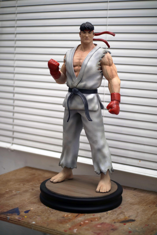 Download Stl File Ryu Street Fighter Fan Art Statue Cults
