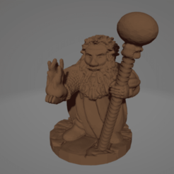 Dwarf Hero WIzard.png Download STL file Dwarf Hero Wizard • 3D printing design, Ellie_Valkyrie
