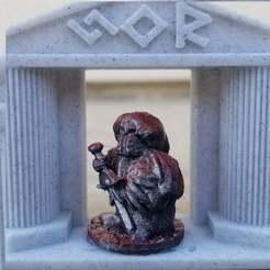 Evil_Assassin_Dwarf.jpg Download free STL file Surt-Sworn Assassin • 3D printer model, Ellie_Valkyrie