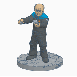 The_Doctor.png Download free STL file The Doctor (E.M.H.) • Design to 3D print, Ellie_Valkyrie