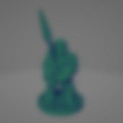 Mummified Spearman.stl Download STL file Mummified Spearman • 3D print model, Ellie_Valkyrie