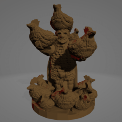 Johnny_The_Cocksummoner.png Download free STL file Johnny, The Cocksummoner • 3D printing object, Ellie_Valkyrie