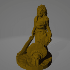 Amazon Hoplite Veteran.png Download STL file Amazon Hoplite Veteran • 3D printable design, Ellie_Valkyrie