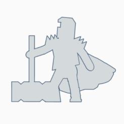 Big Hammer Knight.png Download STL file Sir Giant Hammer • 3D printing design, Ellie_Valkyrie