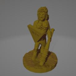 Tegan_Beltway.png Download free STL file Tegan Beltway, Wasteland Amazon (Support-Free!) • 3D print template, Ellie_Valkyrie