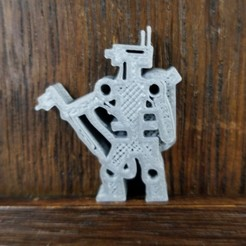 Robot Welder.jpg Download STL file Welding Robot Meeple • 3D printer object, Ellie_Valkyrie