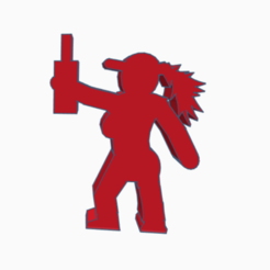 Salud!.png Download STL file Partygoer Meeple • Design to 3D print, Ellie_Valkyrie