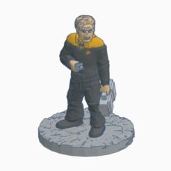 Grumpy_Starfleet_Technician.png Download free STL file Grumpy Starfleet Technician • 3D print model, Ellie_Valkyrie
