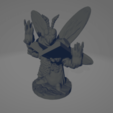 Insectoid Mage.png Download STL file Insectoid Mage • 3D print model, Ellie_Valkyrie