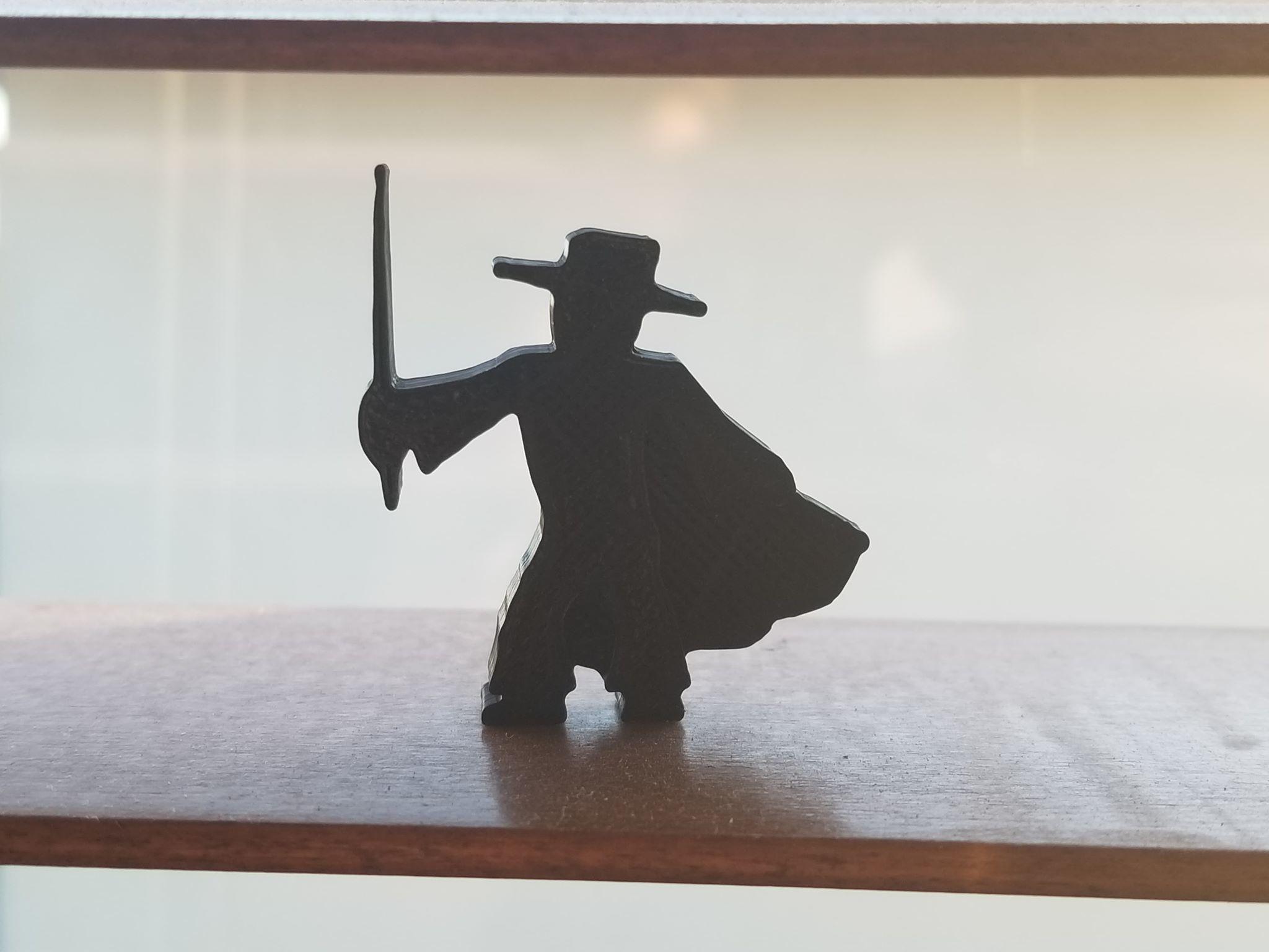 Zorro.jpg Télécharger fichier STL gratuit Zorro Meeple • Design pour impression 3D, Ellie_Valkyrie